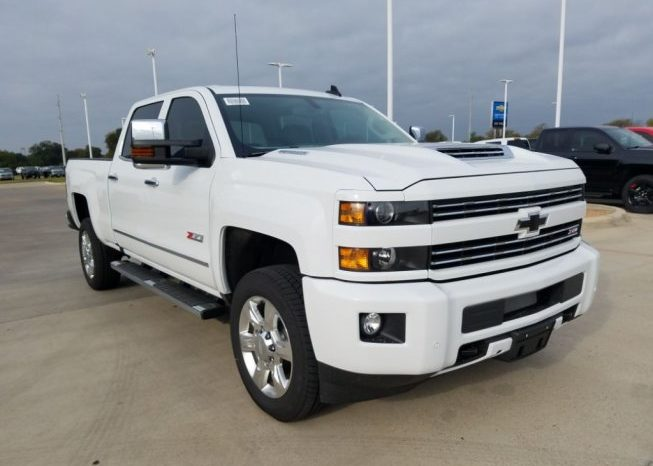 New 2018 Chevy Pickup For Sale In Australia 2500 Ltz Turbo Diesel