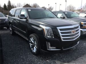 2017 New Cadillac Escalade Platinum