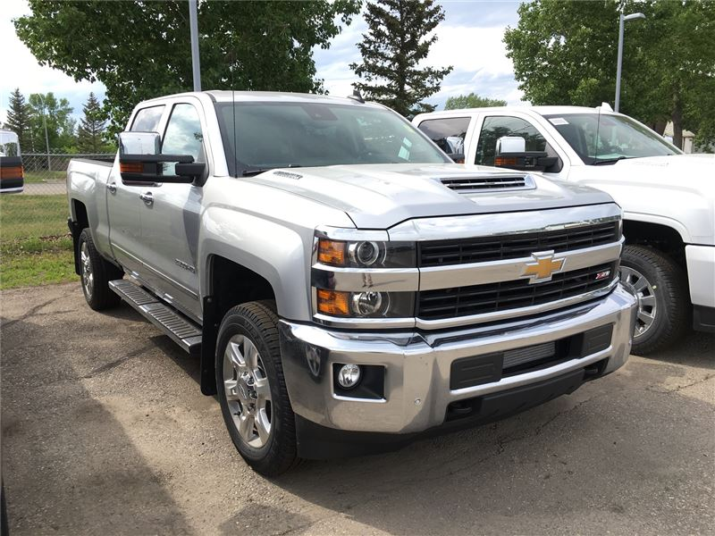 2018 New Chevrolet Silverado LTZ 2500HD Crew Cab Turbo Diesel