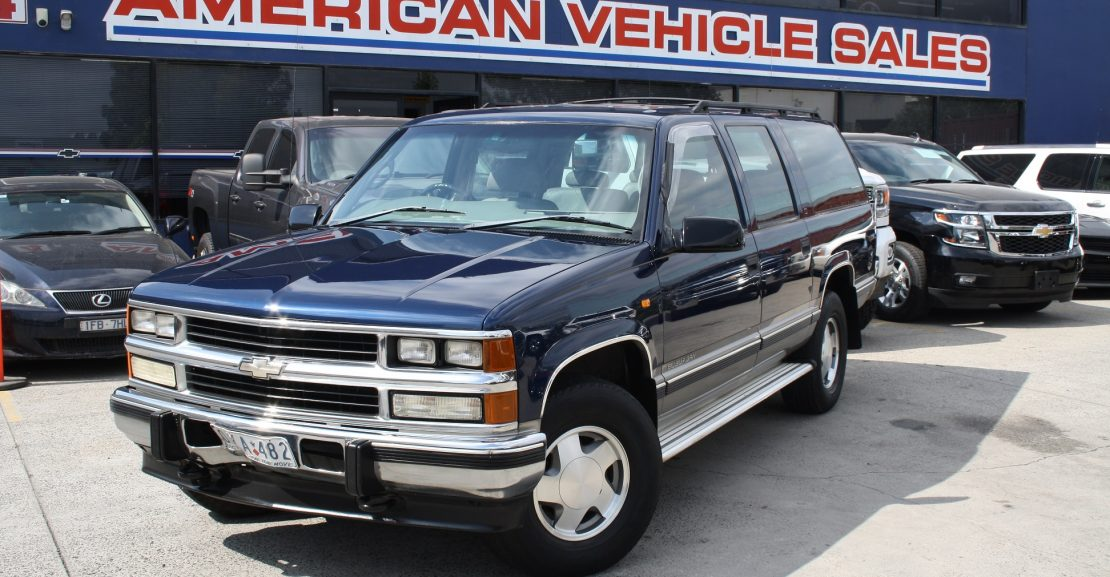 1998 Pre Owned Holden Suburban