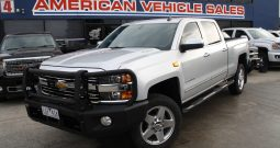 2015 Pre Owned Chevrolet Silverado 2500HD Crew Cab turbo diesel