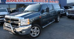 2012 Pre Owned Chevrolet Silverado 2500HD Crew Cab Turbo Diesel LTZ