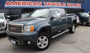2012 Pre Owned GMC Sierra Denali Crew Cab 2500HD Turbo Diesel full